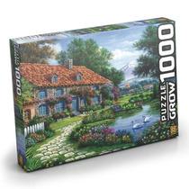Quebra Cabeça Puzzle 1000 Peças Recanto Dos Cisnes - Grow