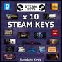 10 Jogos Steam Key - Aleatórios -- Random Key  Virtual Store