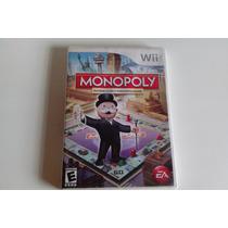 Monopoly Jogo Americano Usado Testado E Funcionando Para Wii