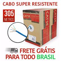 Cabo Cftv Rede Cat5e Utp 4 Pares Caixa 305 Metros