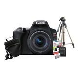 Câmera Canon Sl3 + Lente 18-55mm + Tripé + 32gb + Bolsa Nfe
