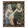 Porta Retratos 20x25 Com Vidro E Moldura De Madeira Barato