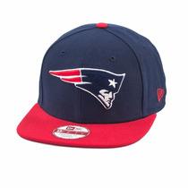 Boné New Era Snapback Original Fit New England Patriots Dra