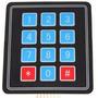 Teclado Membrana Matricial 4x3 12 Teclas Keypad - Arduino -