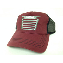 Boné Scania Trucker Original Grade Frontal Made In Usa Novo