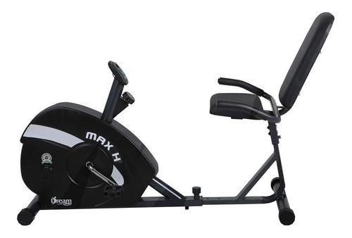 Bicicleta Ergométrica Horizontal Dream Fitness Max H