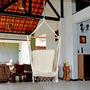 Rede Cadeira Suspensa Bege (algodão Cru) Frete Grátis