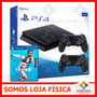 Console Ps4 Playstation 4 1tb Slim 2 Controles Fifa 19 2019