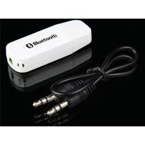 Receptor Bluetooth Áudio Stereo Transmissor P2 E Usb