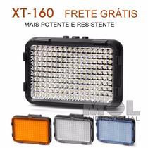 Iluminador Profissional De 160 Leds Pro - Potente Resistente