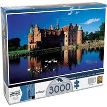 Quebra-cabeça Puzzle Castelo Egeskov 3.000 Peças - Grow
