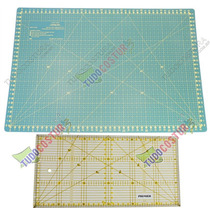 Base De Corte Patchwork Scrapbook 30x45cm + Régua 30x15mm