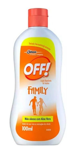 Off Family Loção Repelente 100ml