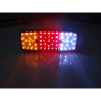 Lanterna De Leds 12 Ou 24 Volts 59 Leds Caminhão - Jeep