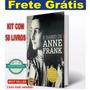 Kit 58 Livros O Diário De Anne Frank Lacra   Frete Grátis