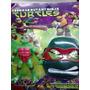 Mascara Tartarugas Ninja + Boneco - Kit Em Blister