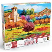 Quebra Cabeça Puzzle 4000pç Verão Em Lourmarin Grow