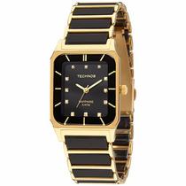 Relógio Technos Ceramic Elegance Safira 2036lmq/4p - 5atm