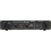 Amplificador Potência Prof. Ciclotron W Power I I 6800 Ab