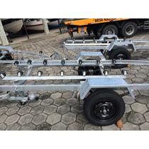 Berço Com Rolete (roldanas) Para Carreta Jet Ski E Barco -