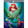 Dvd A Pequena Sereia Novo Orig Lacrado Ariel Disney Aventura