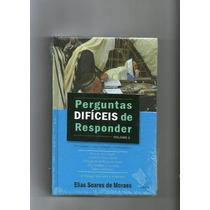 Perguntas Difíceis De Responder Volume 2 Frete Grátis Elias
