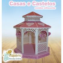 Molde Casas E Castelos 3d Silhouette