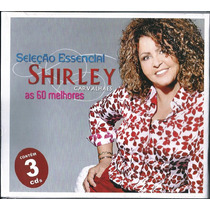 Cd Shirley Carvalhaes - Sel Essencial - As 60 Melhores Vol 1
