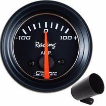 Amperímetro Carro Carga Bateria Automotivo Copo 52mm Painel