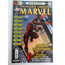 Revistas Grandes Heróis Marvel (premium) - Vários Números