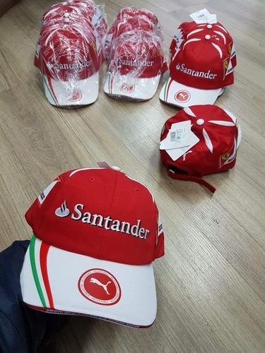 Boné Santander Ferrari Puma Original Promoção 835c690259