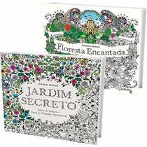 Kit Livros - Jardim Secreto + Floresta Encantada (2 Volumes)