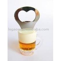 Abridor De Garrafa Copo Cerveja Com Imã Decoração Novidade !