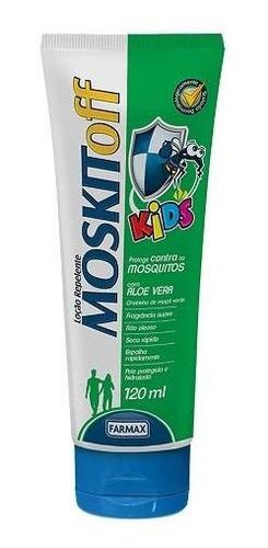 Repelente De Mosquitos Pele Protegida Moskitoff Kids 120ml