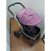 Carrinho De Bebê Aspen Kiddo + Bebê Conforto Caracol Kiddo