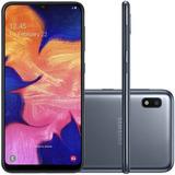 Celular Samsung A10 Preto 32gb 6.2'' 2gb Ram 13mp Dual Chip