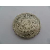 Brasil Moeda 100 Réis Ano 1886 Império Do Brasil Coleção