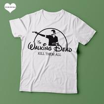 Camiseta The Walking Dead Disney Feminina