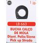 Bucha Calço De Mola Dianteira Palio Siena Pick Up Strada