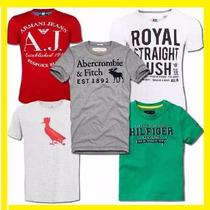 Kit 10 Camisetas Hollister | Abercrombie | Element | Calvin