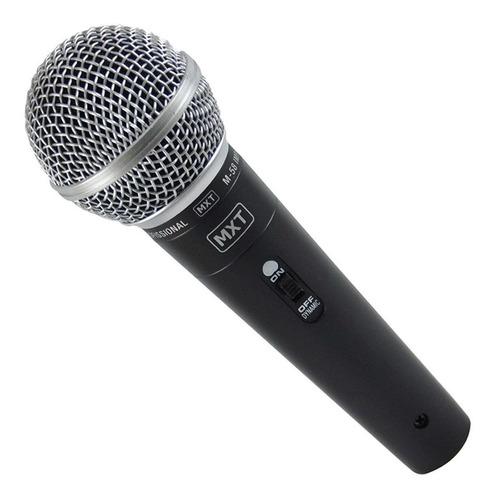 Microfone Mxt M-58 Cardióide Preto