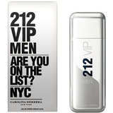 Perfume 212 Vip Men 100 Ml - Original E Lacrado