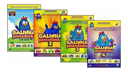 Galinha Pintadinha 1 2 3 4 5 - Coleção Infantil
