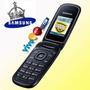 Celular Samsung E1270 - Sistema De Abrir E Fechar (flip Top)