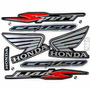 Kit Jogo Adesivo Honda Titan150 Sport 2005 Preta