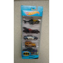 Carrinho Hot Wheels Pack Batman 5 - 2015 - 5 Carrinhos