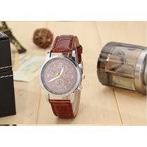 Relógio De Pulso Luxo Social Com Caixa A Pronta Entrega