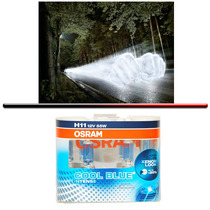 Kit Lampada Osram Cool Blue Intense H11 Super Branca 4200k