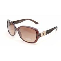 Guess Óculos De Sol Feminino Guf247 Marrom