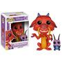 Funko Pop! Disney: Mulan - Mushu & Cricket #167